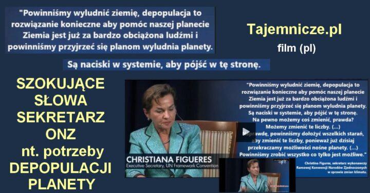 tajemnicze.pl-sekretarz-onz-christiana-figueres-depopulacja-ziemi